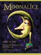 M675 › 4/19/14 Don Quixote's Music Hall, Felton, CA poster by John Mavroudis