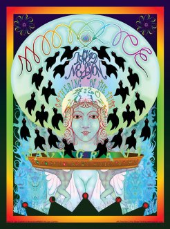 M693 › 4/20/14 420 Gathering of the Tribe at Slim's, San Francisco, CA poster by Lee Conklin