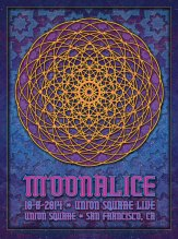 M757 › 10/08/14 Union Square Live, San Francisco, CA poster by Dave Hunter