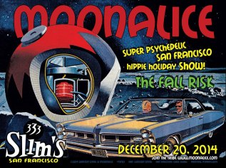 M783 › 12/20/14 Slim's, San Francisco, CA poster by Winston Smith