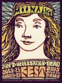 M853 › 7/25/15 Ain't Necessarily Dead Fest, Auburn, CA poster by Wes Wilson