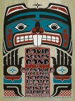 M875 › 10/11/15 Aladdin Theater, Portland, OR poster by Gary Houston