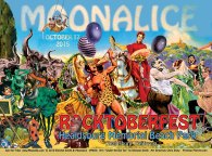 M878 › 10/17/15 Roctoberfest at Healdsburg Memorial Beach Park, Healdsburg, CA poster by Winston Smith