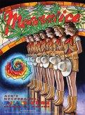 M925 › 7/16/16 Ain't Necessarily Dead Fest, Auburn, CA poster by Dennis Larkins