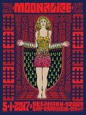 M966 › 5/1/17 Private Event, San Francisco, CA poster by Carolyn Ferris & Wes Wilson