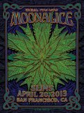 M578 › 4/20/13 420 Tribal Pow-Wow at Slim's, San Francisco, CA poster by Dave Hunter