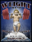 R99 › 6/24/17 Harlow's, Sacramento, CA poster by Chris Shaw supporting The Weight Band