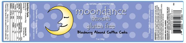 moondance gluten free, gluten free coffee cake, gluten free, coffee cake, blueberry coffee cak