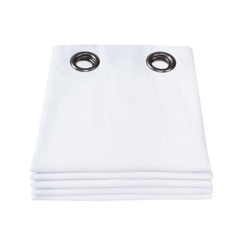 rideau thermique lin lave blanc rideaux moondream