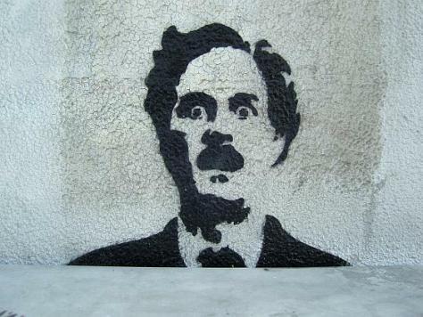 Photo of John Cleese Graffiti by Thomas Nicot