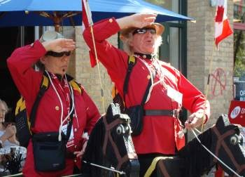 The Renfrews Mounted Police Musical Ride