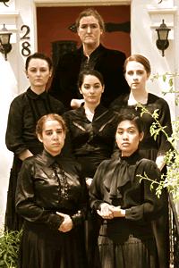 Top to bottom, left to right: the Company, including Darlene Spencer; Ann-Marie Banski; Amanda Testini; Sophie Mercer; Ana Lia Arias Garrido; Ellie Posadas.