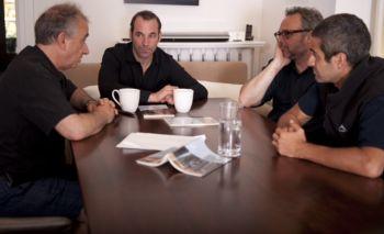 Arthur Milner, Alex Poch-Goldin, Richard Greenblatt and Sam Kalilieh in Facts