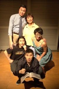 John Ng, Brenda Kamino, Zoe Doyle, Oliver Koomsatira Richard Lee Ching CHing Chinaman photo Alex Felipe