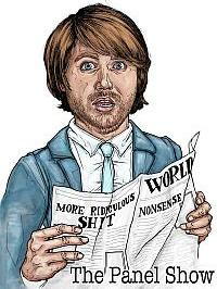 Illustration of Ned Petrie by Jeff Blackburn for The Panel Show