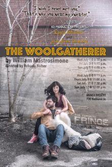 The Woolgatherer at the 2015 Toronto Fringe Festival. Poster photo of Kayla Whelan and Jonathan Shatzky