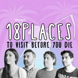 Poster of 18 Imaginary Places to Visit Before You Die