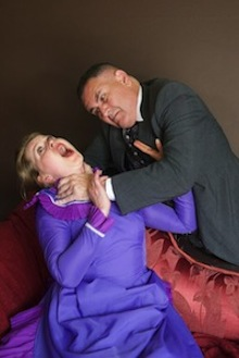 Photo of Lawrence Stevenson and Hanna Peltoniemi-Fam courtesy Stage Centre Productions