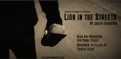 Lion in the Streets Poster