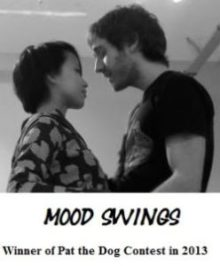 Mood Swings performers Tom Beattie and Maggie Cheung