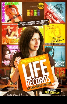 LIFE RECORDS SHOW POSTER