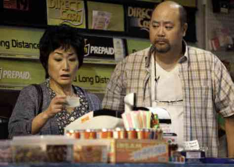 "Performers in ""Kim's Convenience"""