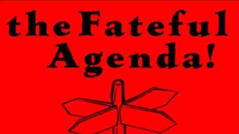 Poster of Fateful Agenda