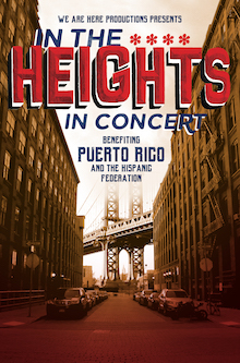 Poster for In the Heights: In Concert