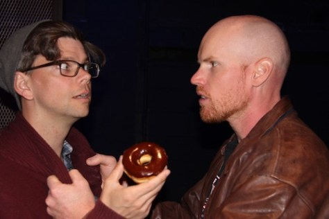 Photo of Andrew Chapman and Ryan Turner in False East