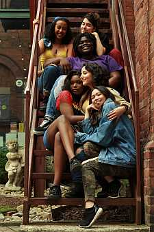 Photo of cast of Lion Womxn Summerworks 2018