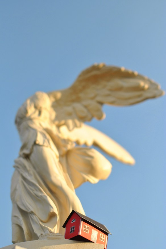 On June 27, 2013  Christian Vinterhav brought House #2.30 into the morning light with the Winged Victory of Samothrace at Menton on Cöte d'Azur.