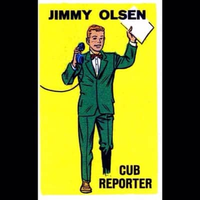 Hasil gambar untuk jimmy olsen cub reporter