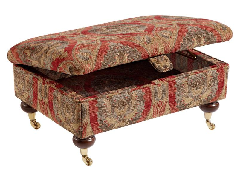 duresta ruskin foot stool storage