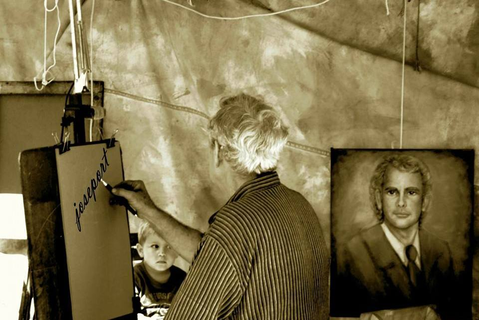 Don Fulgencio, el pintor.