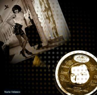 """Veintitrés años sin Freddie Mercury. Cuarto aniversario de MoonMagazine. """"I want to break free"""" diseño de Nuria Velasco"""