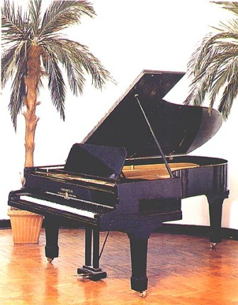 Queen II. Piano de cola Bechstein