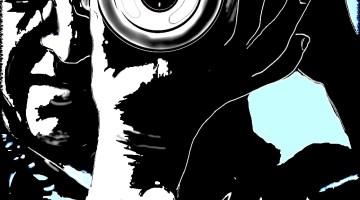 GOLA Fotografía. Dibujo digital inspirado en autorretato por Rosa Prat.