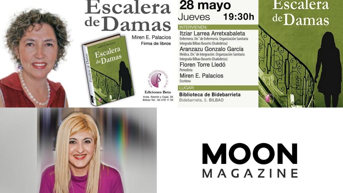 MoonMagazine.info y Escalera de Damas en la Universal Radio. Txaro Cárdenas y Miren E. Palacios