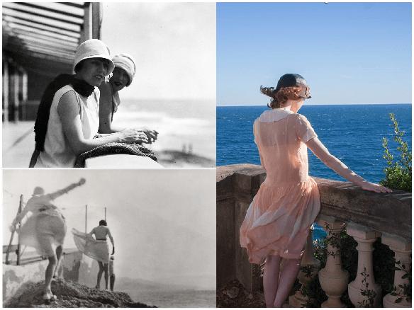 Magia a la luz de la luna: Romanticismo y esplendor de los años 20. Fotogramas de las películas de Jacques Henri Lartigue y de Woody Allen.