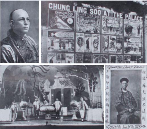 Magia a la luz de la luna: Romanticismo y esplendor de los años 20. The riddle of Chung Ling Soo'