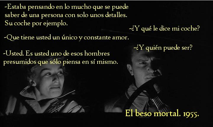 El Beso Mortal (Kiss Me Deadly). Robert Aldrich 1955. Hammer y las mujeres.