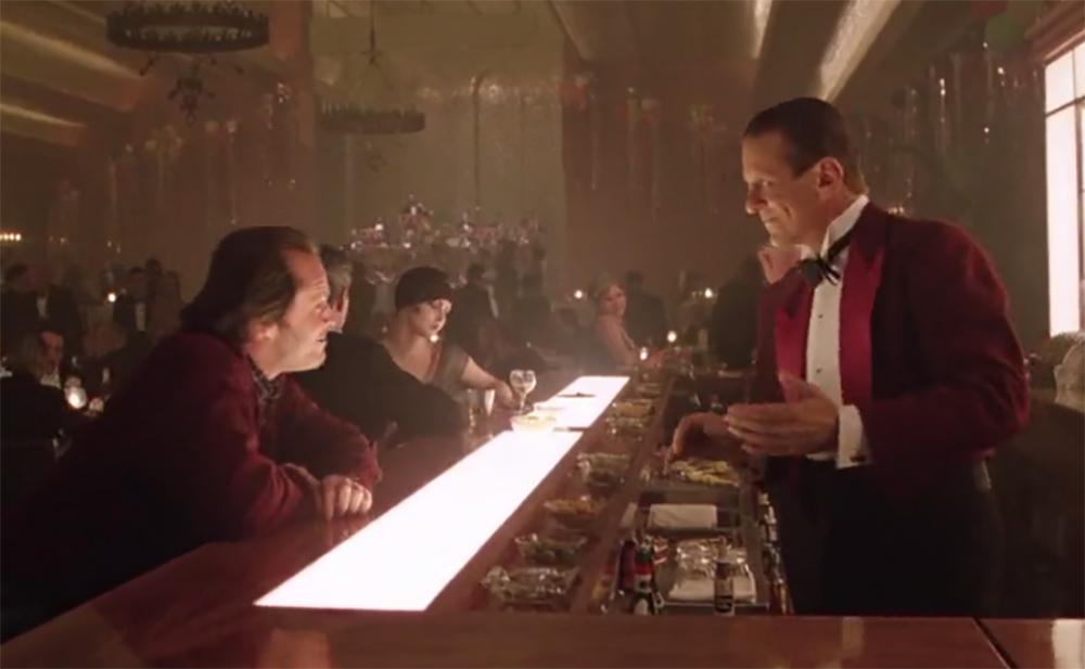 El Resplandor. Treinta y cinco años de la película de Kubrick. Rojo burdeos.