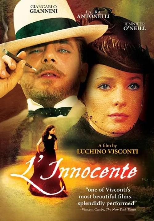 Laura Antonelli, un mito erótico que solo buscaba el olvido. El Inocente, Luchino Visconti.