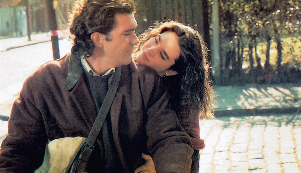 De amor y sombra. Antonio Banderas, Jennifer Connelly, 1994, (c) Miramax