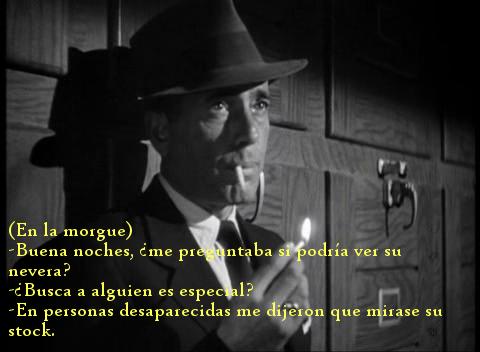 Callejón sin salida. Humphrey Bogart.