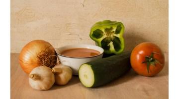 ¡No son verduras! ¡Es Gazpacho! Fotografía de Rafael Hierro.