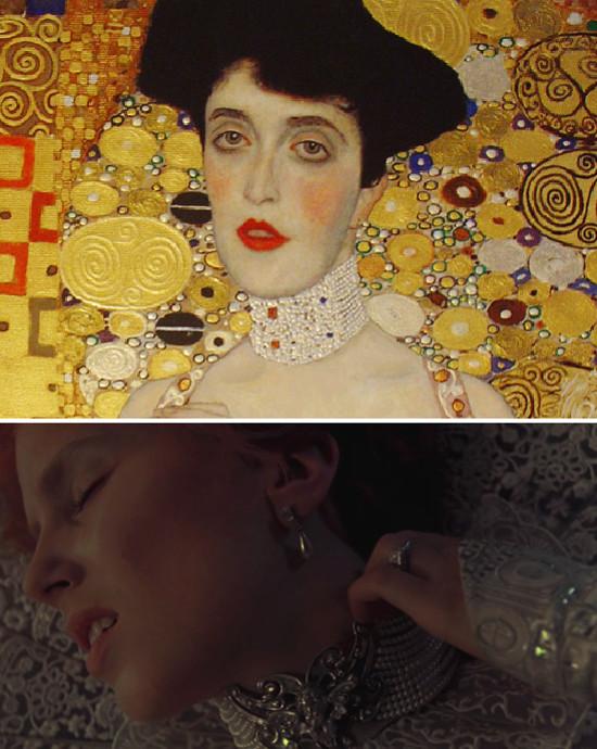Lucy-colgante-perlas-klimt