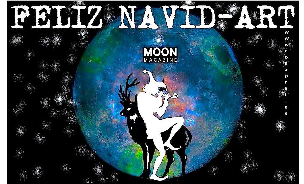 Feliz Navidad y próspera Luna Llena. Participa con la tuya