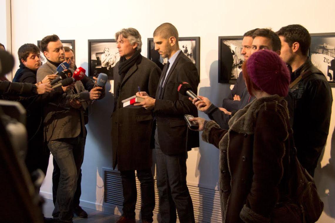 Zinédine Zidane, el hombre universal. Zinédine Zidane según Philippe Bordas. Exposición en Madrid.