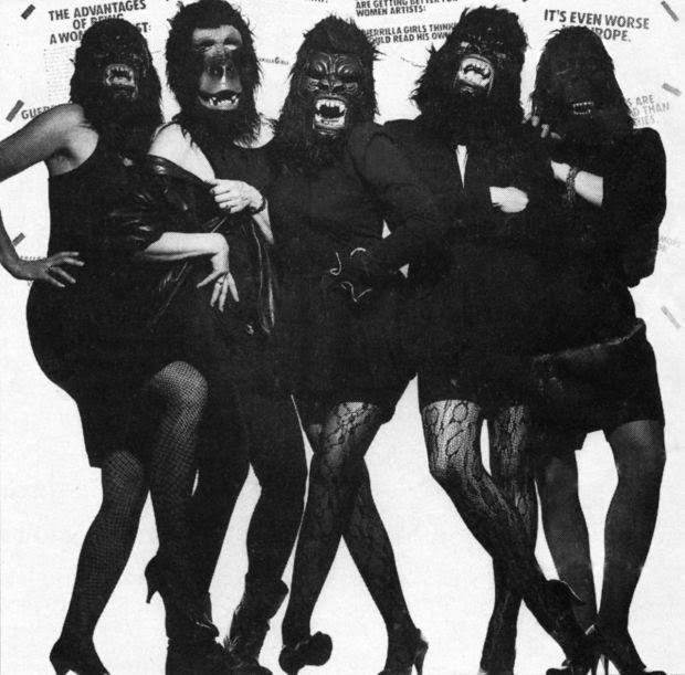 Guerrilla girls: carteles contra el sexismo en el arte. Artículo de Pilar García Reche.